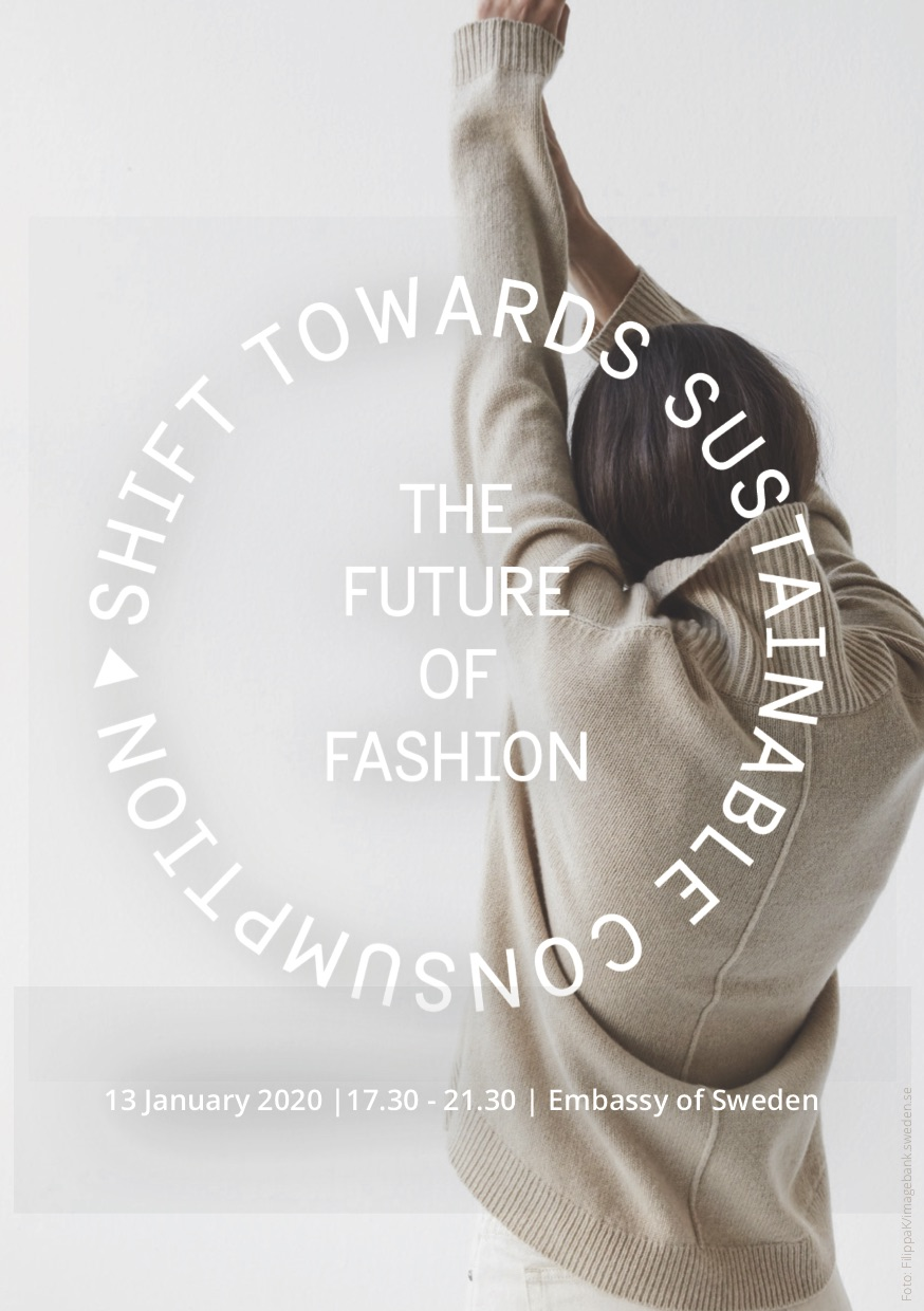 13. Jan 2020: The Future Of Fashion, Embassy of Sweden